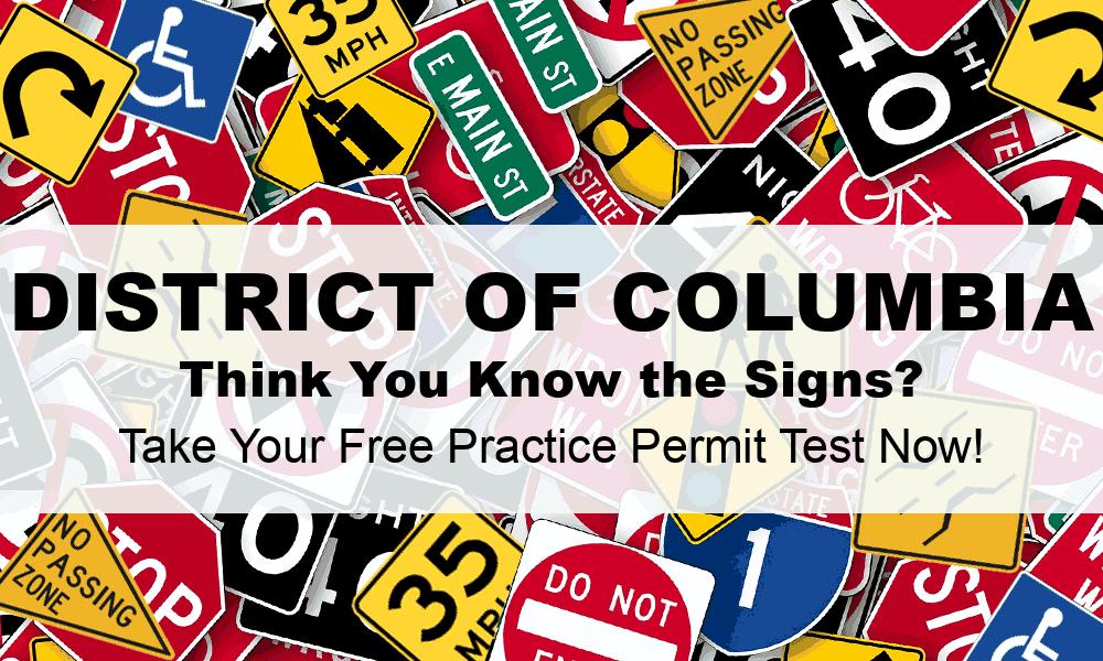 DMV Practice Test District Of Columbia DC