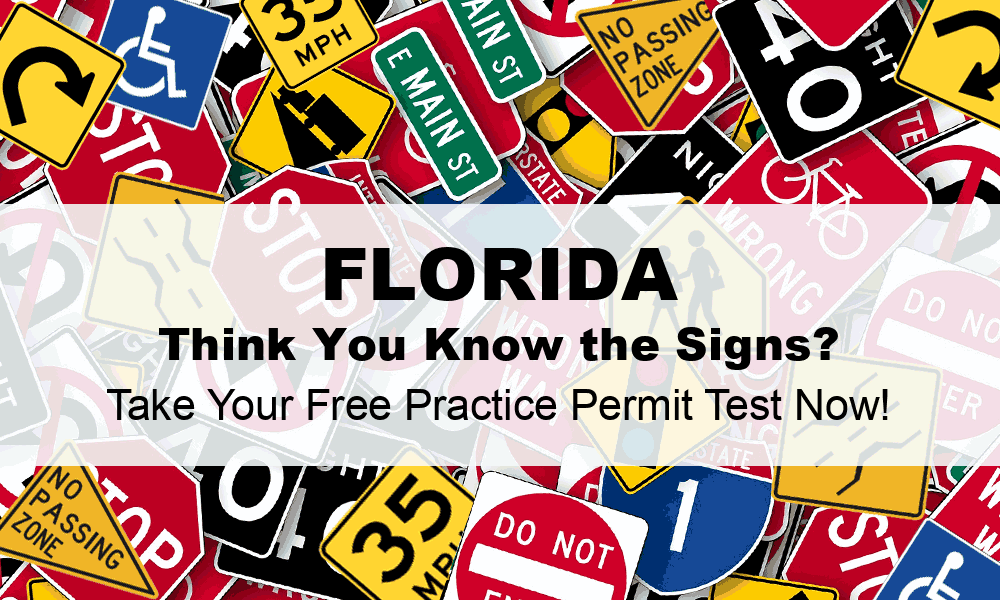 florida drivers license test questions 2019