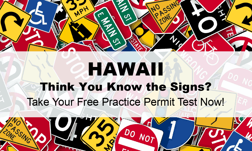 hawaii drivers permit test questions and answers
