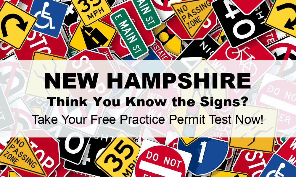 New Hampshire DMV Practice Test (#1) - FREE NH DMV Practice