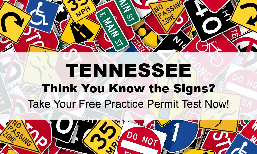 Tennessee DMV Practice Test (#1) - FREE TN DMV Practice Permit Test