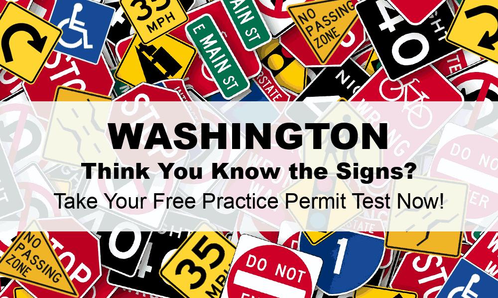 Washington DMV Practice Test (#1) - FREE WA DMV Practice